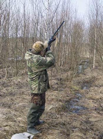 "Техника стрельбы ""влёт"" на обгоне"