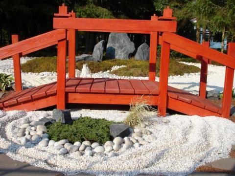 Мостики в саду - копилка ландшафтных идей