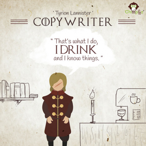 If Game Of Thrones Characters Worked In An Ad Agency…