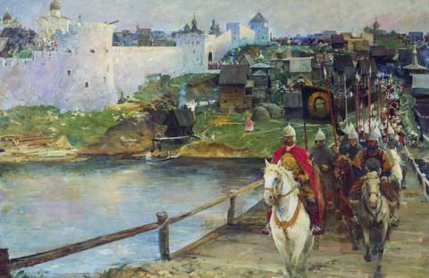Московско-литовская война на…