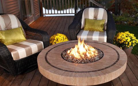 Столы в огне – потрясающе красиво!