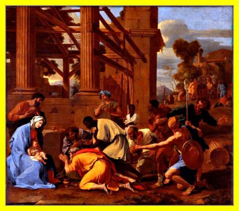 Поклонение волхвов.1633г.