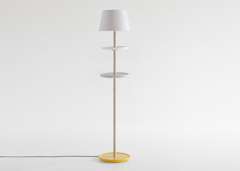 Лампа Impila со скользящими полками