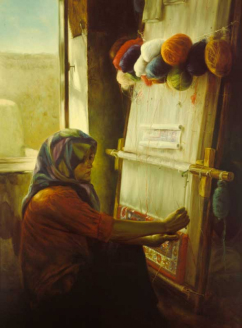 Самоучка из Ирана. Morteza Katouzian.( род.1943 г.)