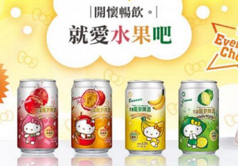 Hello Kitty - теперь и пиво