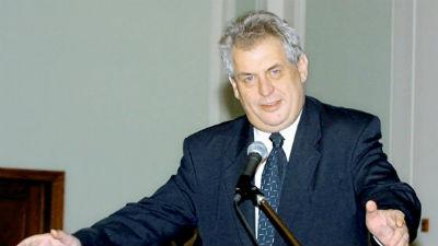 Президент Чехии предрек всту…