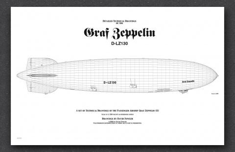"""14 сентября - первый полет дирижабля LZ-130 """"Граф Цеппелин II"""""""