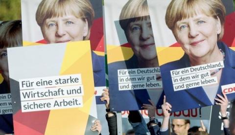 Выборы вГермании начались: …