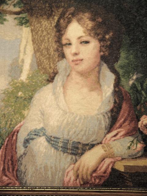 Лопухина портрет вышивка крестом
