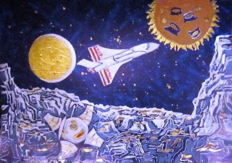 Работы Романа Кузнецова-2. 2001 г.р., г. Петропавловск, Казахстан.