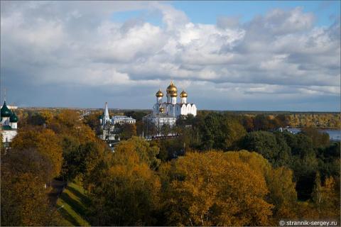 Сердце старого города Ярославля — Спасо-Преображенский монастырь