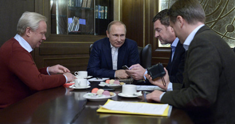 Большое интервью Владимира Путина газете Bild вызвало в немецком обществе эффект разовавшейся бомбы.