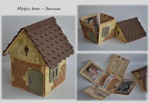 "Подарочная коробочка ""Домик …"