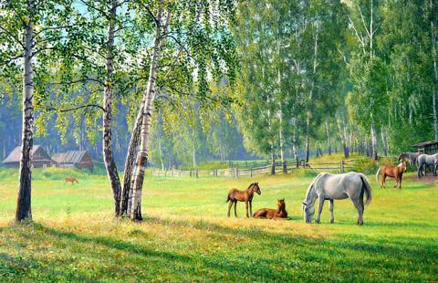 Уральский художник Дмитрий Щеглов