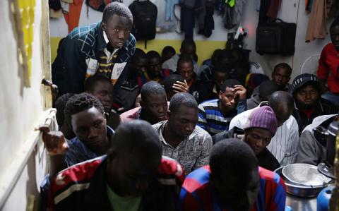 Африканские беженцы бьют рекорды по совершению преступлений в Германии