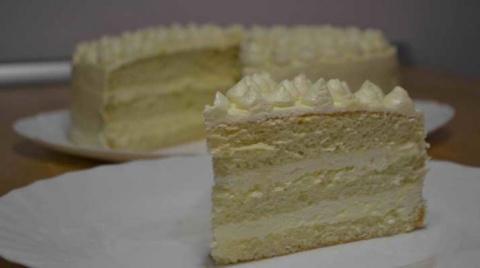 Очень вкусный торт пломбир