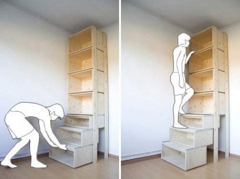 Как добраться до верхней полки