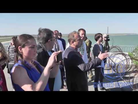 Националистическое шествие в день памяти жертв депортации крымских татар прошло в Чонгаре