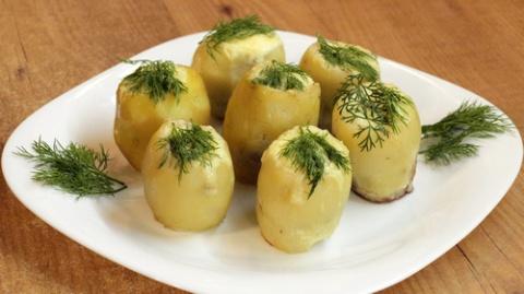 Картофельные гнёзда