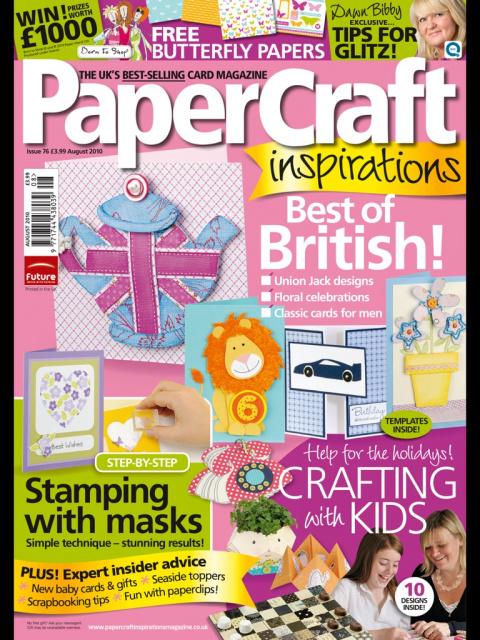 PaperCraft Inspirations 08 (76) 2010 (открытки)
