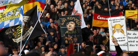 Когда арабы подожгут Бундестаг ?