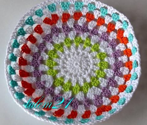 Смена цвета в вязании ( для начинающих)