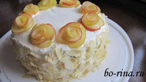 """Десертный вихрь. Пироги с яблоками. Торт """"Яблочное лакомство"""""""