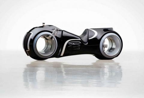 Уникальный в своем роде электрический мотоцикл Tron Light