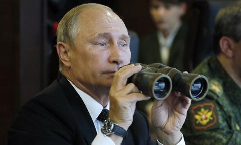 """Путин приехал на учения """"Запад-2017"""""""