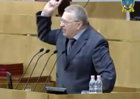 """Это бомба! Жириновский рвет """"едросов"""" и становится понятно, почему Путин не посетит съезд """"Единой России"""""""