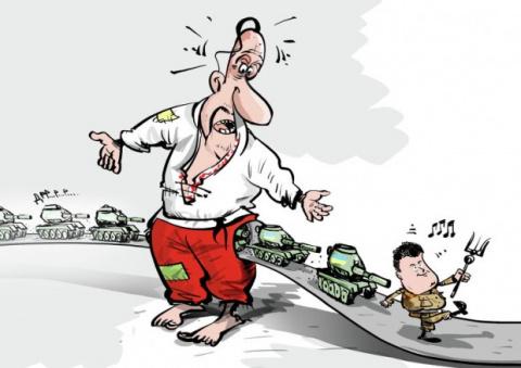 Украинцы хотят продолжения войны, только они об этом не знают