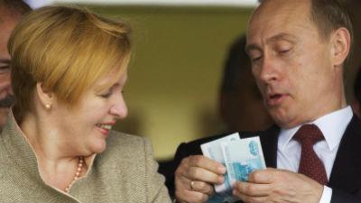Путин урезал себе зарплату н…