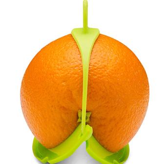 Как сохранить половинку апельсина