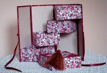 Как сделать красивые коробки…