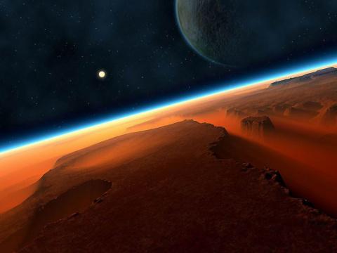 """Тайны """"красной"""" планеты."""