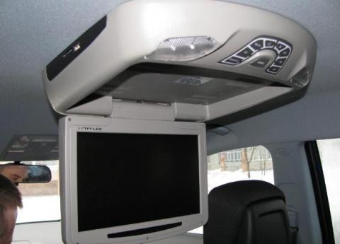 Телевизор в машину. Рукожопство
