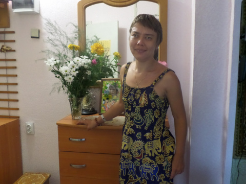 Анна Желтоногова.
