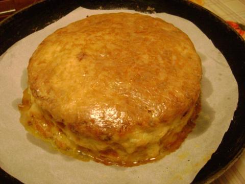 Капустный закусочный торт по мотивам рецепта Людмилы Формус