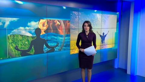 Российская телеведущая вызва…