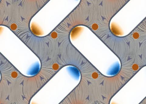 Тепловые флуктуации развернули магнитный момент в решетках из наномагнитов