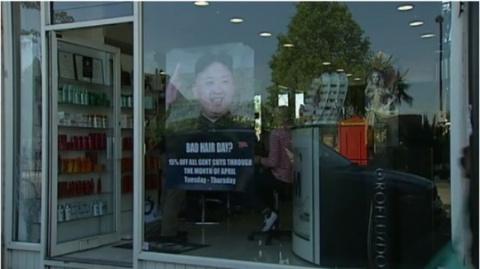 Ким Чен Ыну «доверили» рекламу плохих причесок
