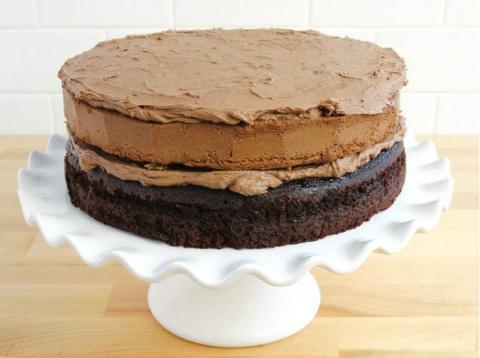 Рецепт праздничного торта с …
