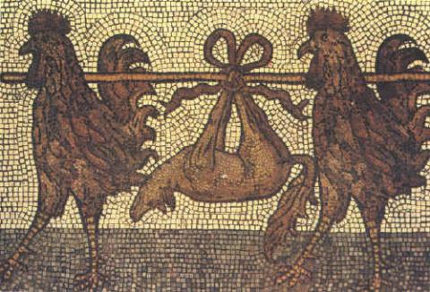 Символический петух