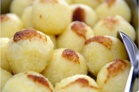 Вкуснейшие картофельные клёцки