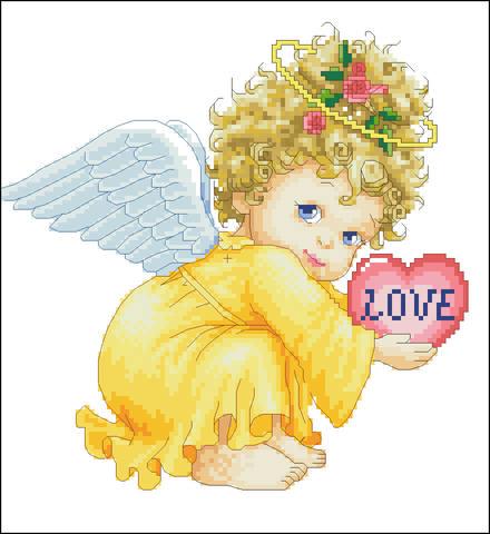 Ангелочек девочка