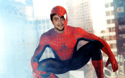 Из фильма человек паук тоби магуайр
