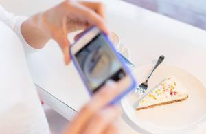 Какую еду чаще всего фотогра…