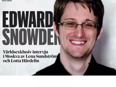 Эдвард Сноуден обличает