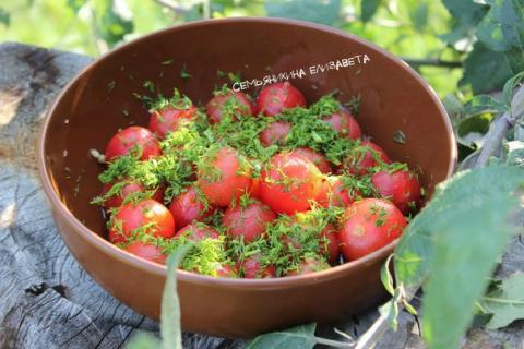 Супер-закуска помидоры черри…