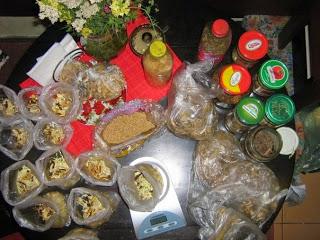 Упаковка продуктов перед экспедицией